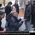 48 Paris - devant le ministère