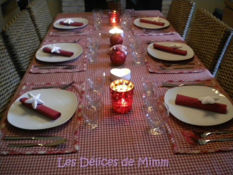 Une Table De No 235 L Tradition Nordique En Rouge Et Blanc