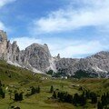 le passo di Gardena 2121m