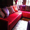 Canapé d'angle et fauteuil de mr et mme c.
