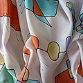Echarpes peintes sur la soie