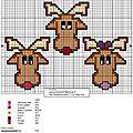 3 petits rennes
