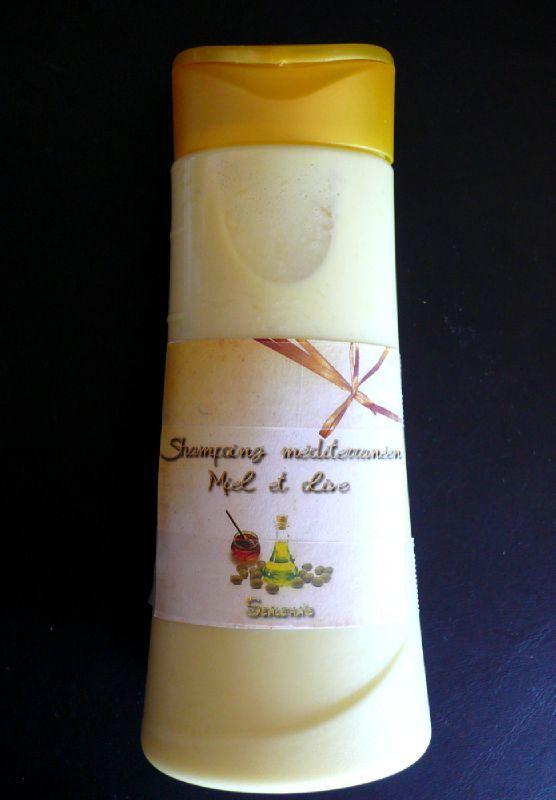 Shampoing méditerranéen miel et olive