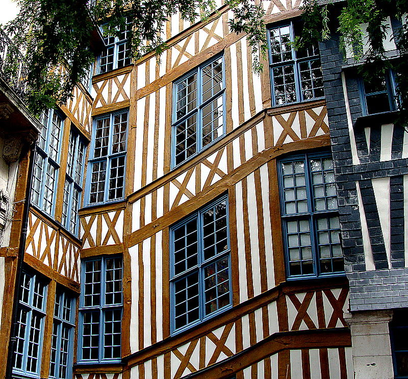 la maison du coucou rouen fabulous faade occidentale de la cathdrale de rouen with la maison du. Black Bedroom Furniture Sets. Home Design Ideas