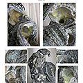 page 16 2014-TOTUM 100 SCHMIMBLOCK'S schatz 2014 - acrylique sur argile 24x19cm