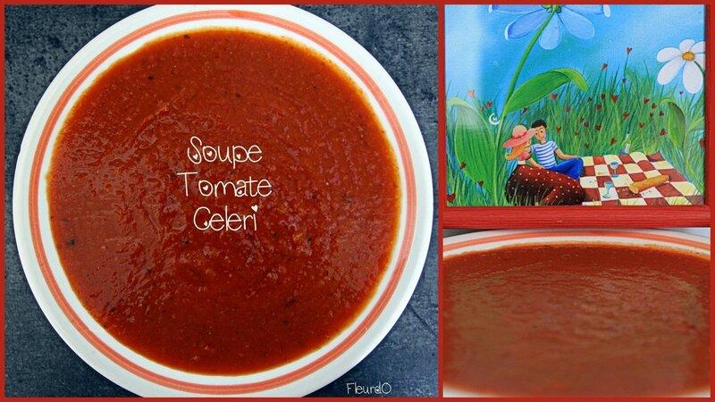 Soupe à la tomate-light