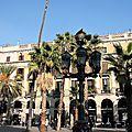 Barcelone, Placa Reial_6820