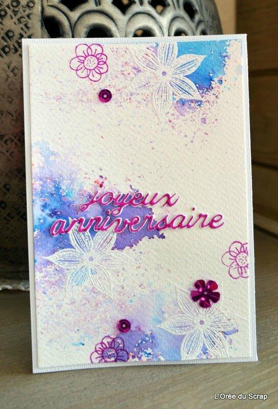blogorel carte brusho tampon florileges design