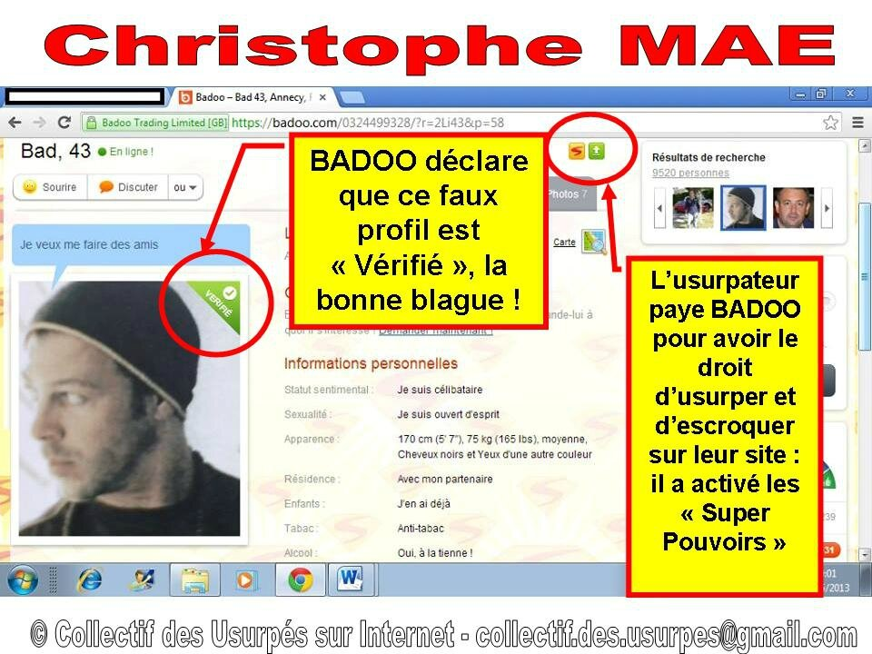 Badoo version francaise