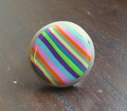 Rayée multicolore