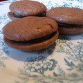 macarons tout chocolat...presque russis!