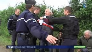 Chesfrene THT Jean-Claude Bossard juin 2012 interpellation