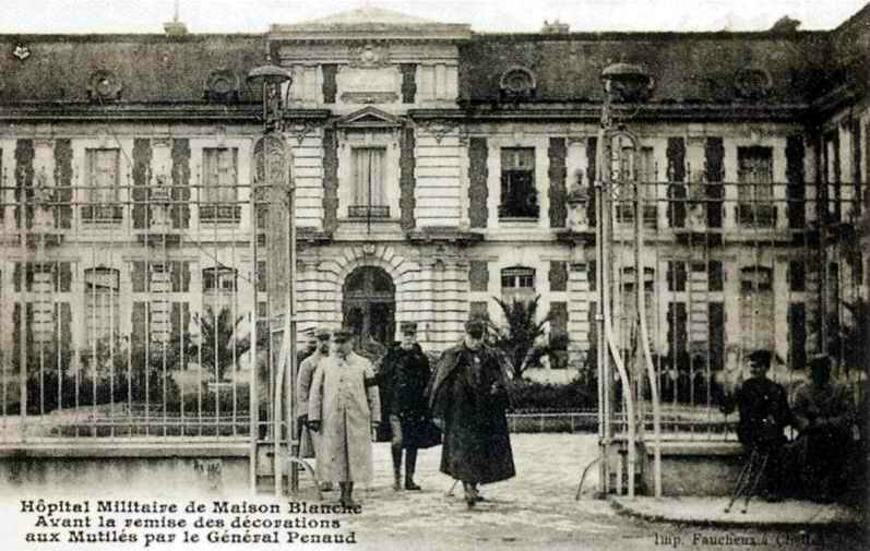 Maison blanche Neuilly sur Marne 1500 lits