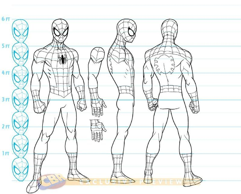 ultimate spider man la srie anime nouveaux concept arts