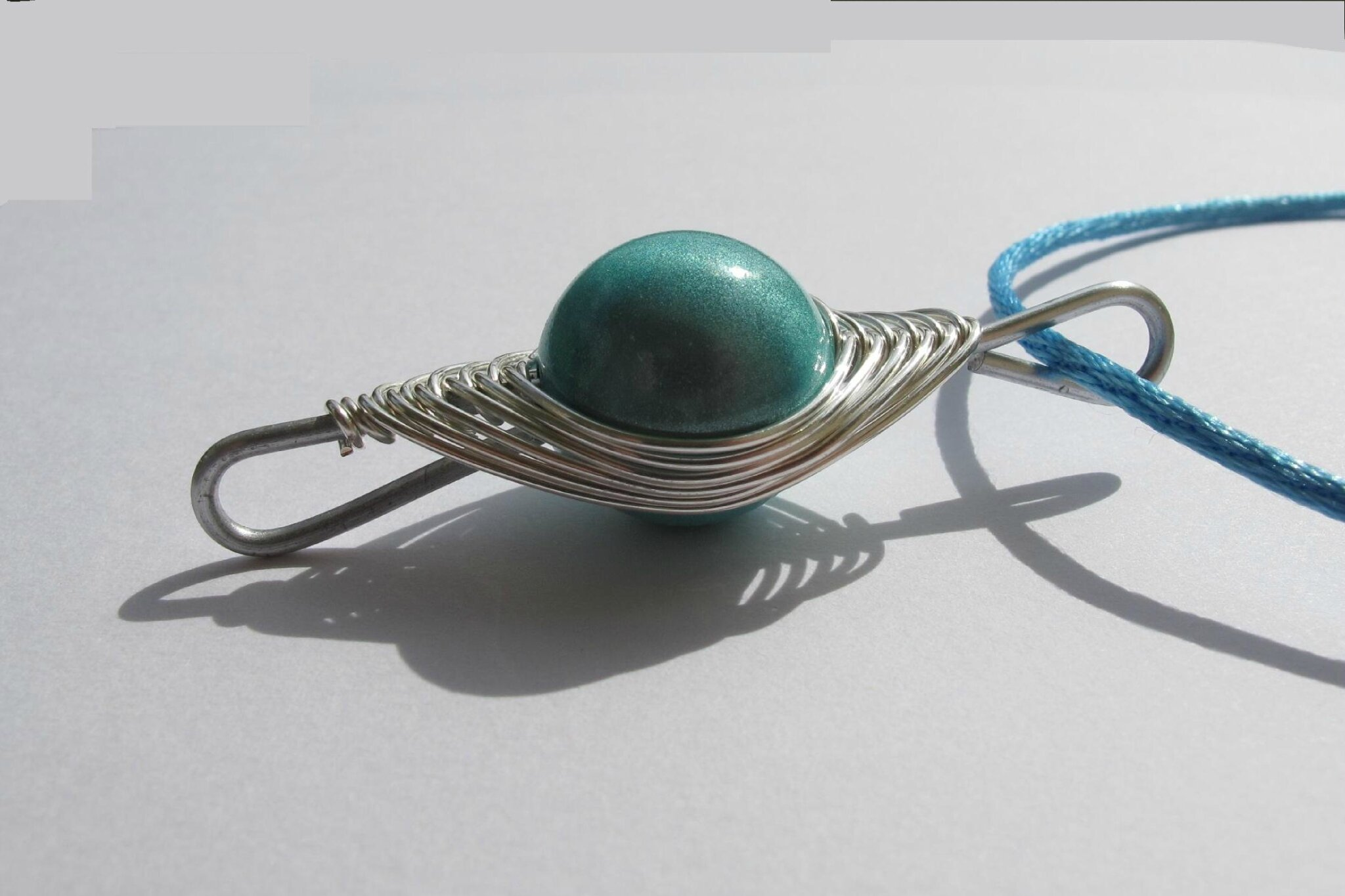 pendentit wire turquoise ALM gp