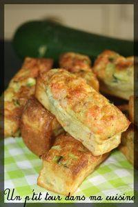 Cakes crevettes courgette curry
