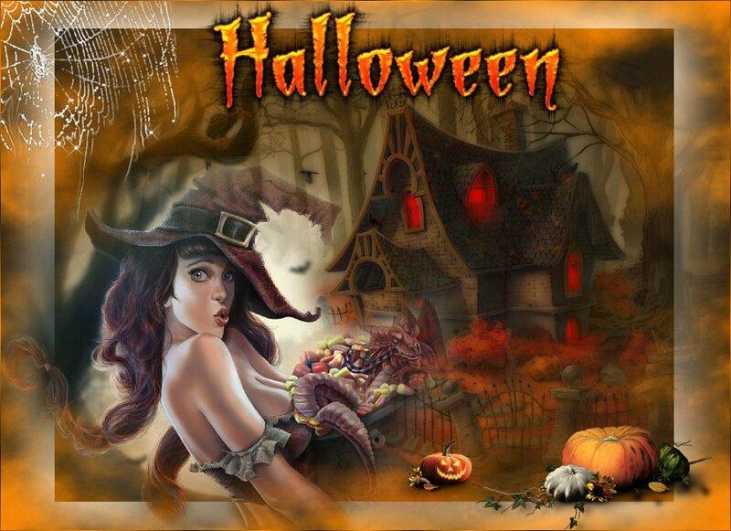 29 sorcière d'halloween