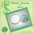 mousse douceur coco