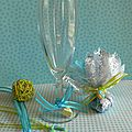marque verre thème gourmandise turquoise anis 2