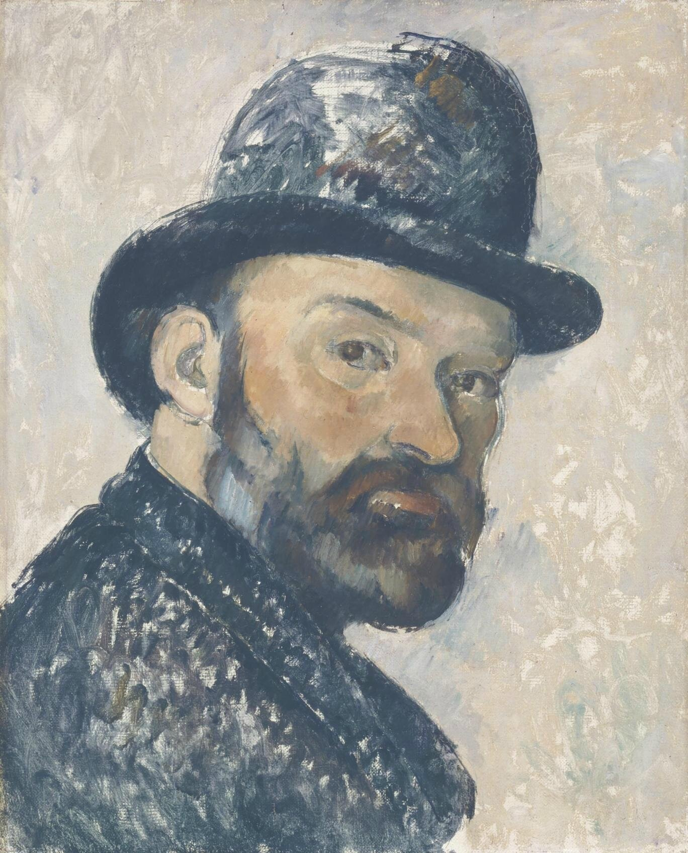 Self portraits by Cézanne go on public display for the first time in the UK