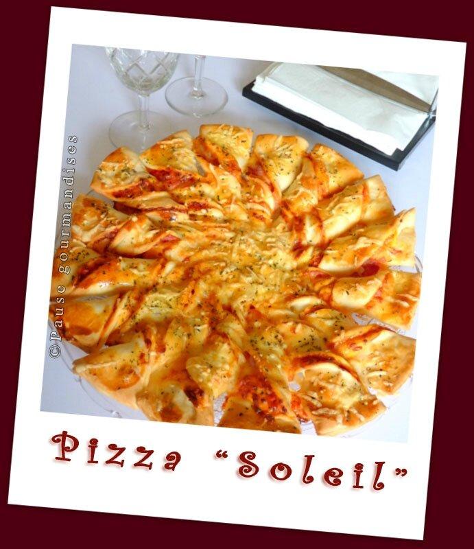 Pizza soleil blogs de cuisine - Recette soleil pate feuilletee ...