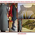 Robe simple sans manche, les tuto de base en un tuto