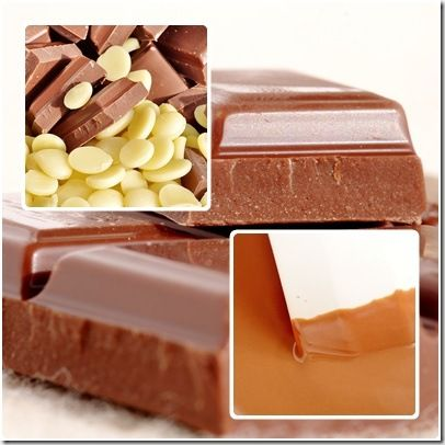 chocolat au lait & beurre de cacao