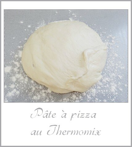 pâte à pizza au Thermomix