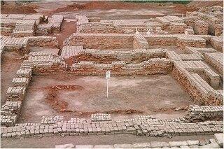 Ant-ruine, de Mohenjo-Daro