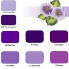 Parme violine indigo lilas mauve pourpre prune inspirationsud - Couleur parme et mauve ...