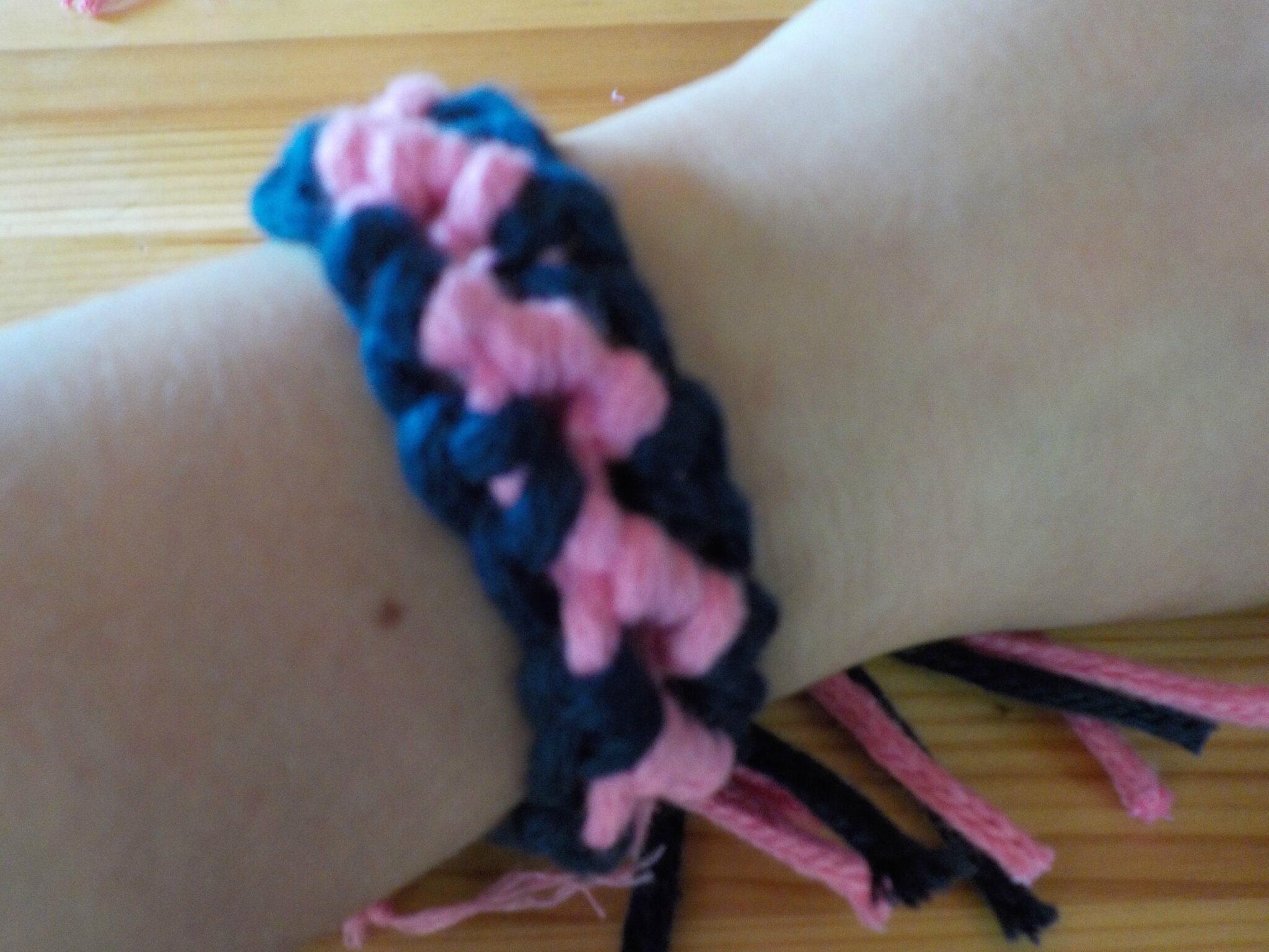 Bracelet brésilien simple + bordures