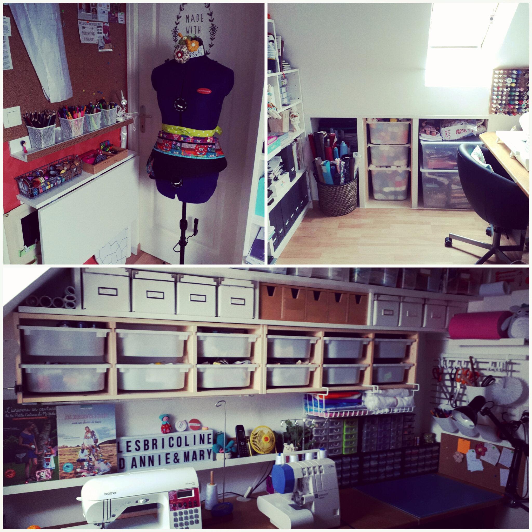 Mon atelier de couture