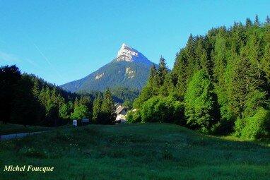 661) montagne Chamechaude en chartreuse