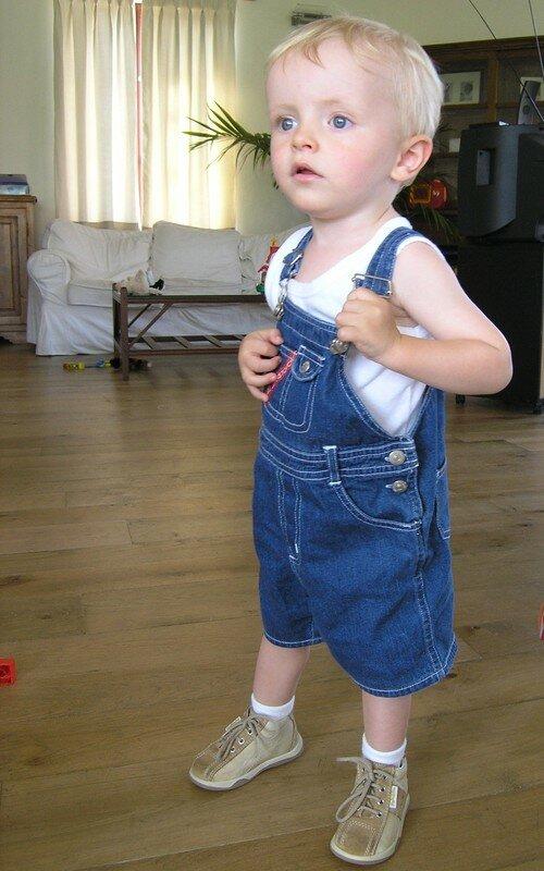 27 mois - Luca marche !!!