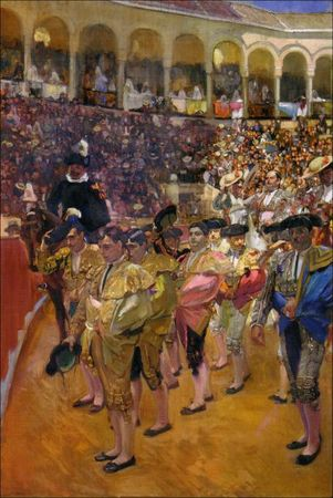 sorolla_los_toreros_Sevilla_1915_Collection_Hispanic