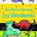 Questions-réponses les dinosaures (jeu)
