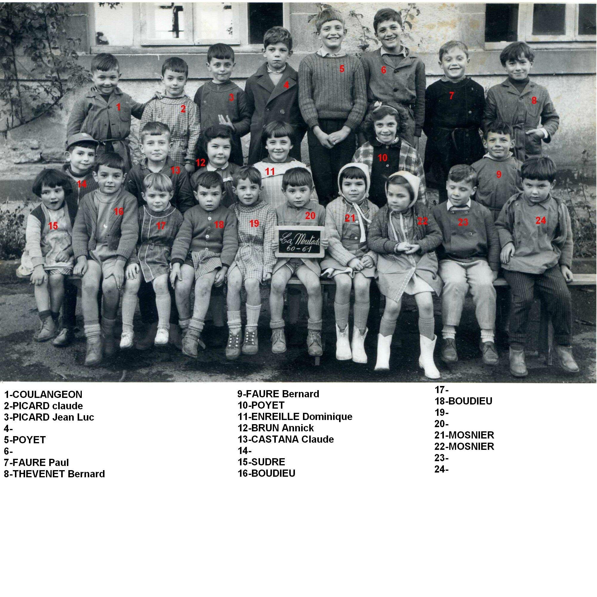 1960-1961 petits