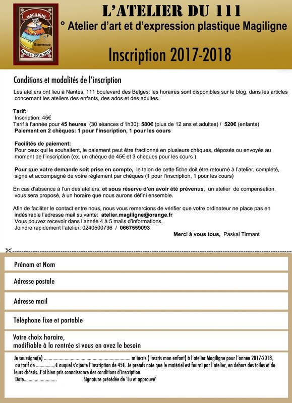 Fiche 2017 Inscription