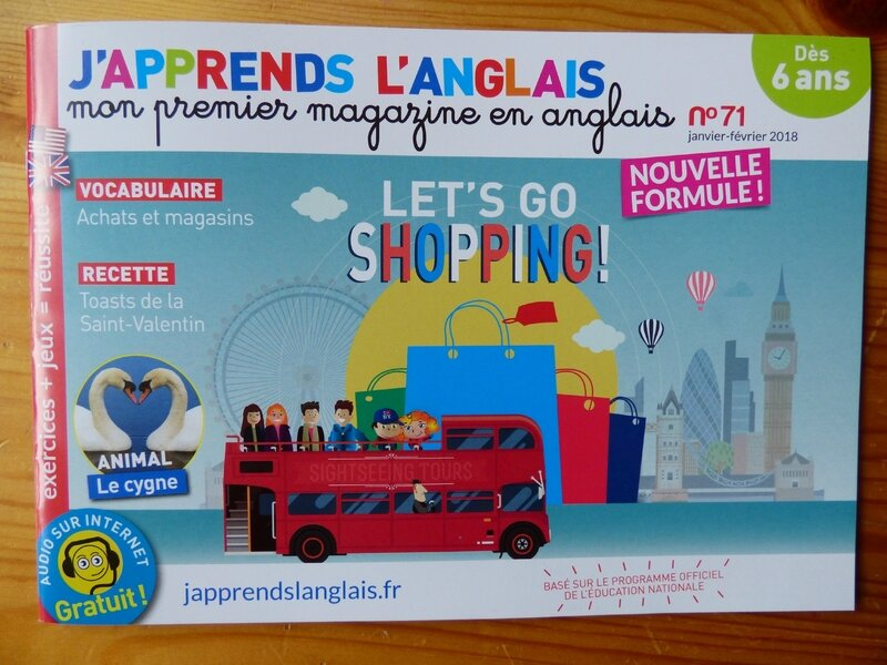 J'apprends l'anglais (1)