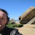 Jénorme sur la plage de la Savane avec corne d'abondance, Capbreton (40)