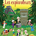 Les explorateurs : autocollants