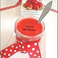 Coulis de fraises maison