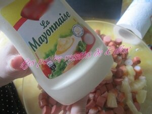 Verrine de Riz Surimi Crevettes et Ananas15
