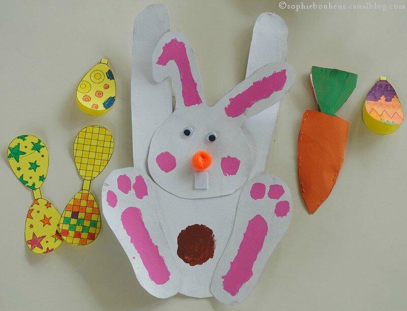 Pâques ensemble lapin