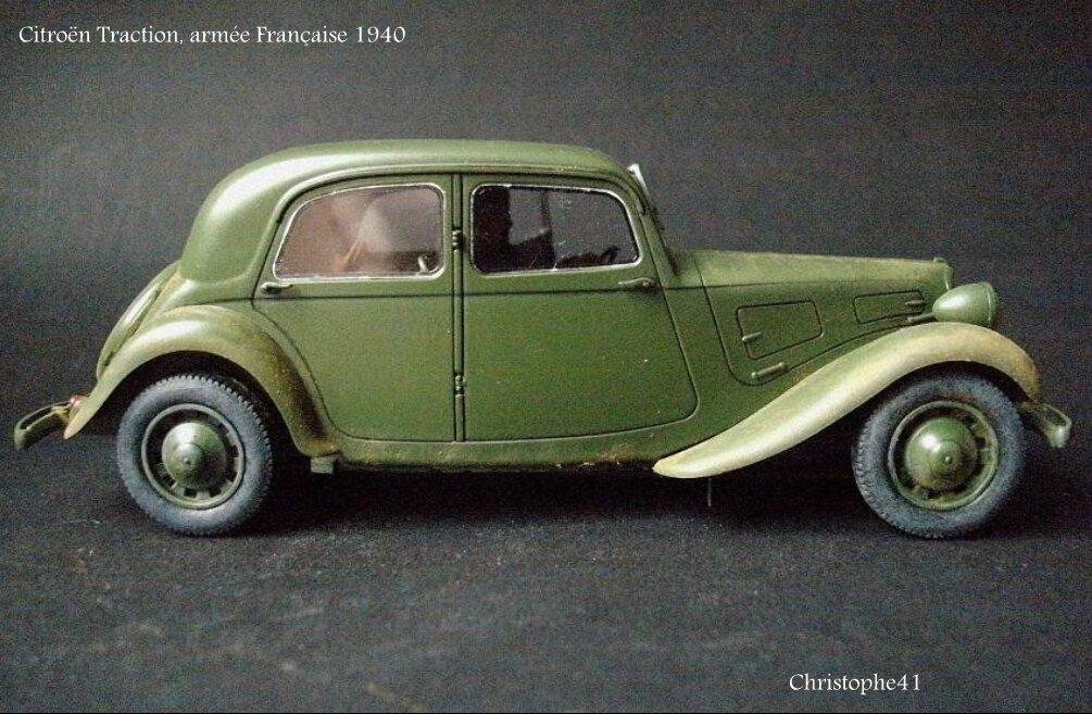 Citroën Traction, armée Française 1940 - PICT5029