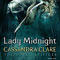 Chronique: the mortal instruments : renaissance, tome 1 : la princesse de la nuit de cassandra clare