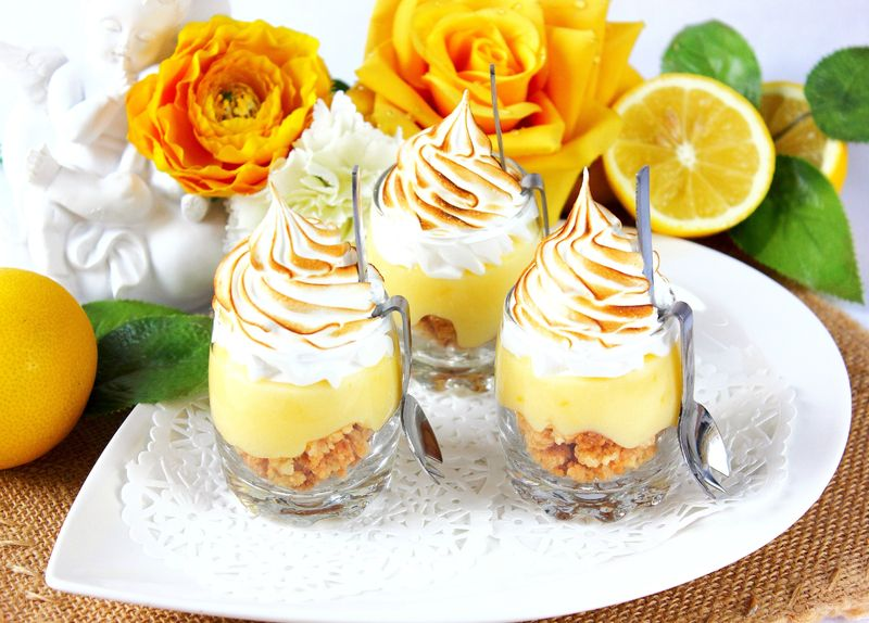Tarte au citron meringuée version verrine2