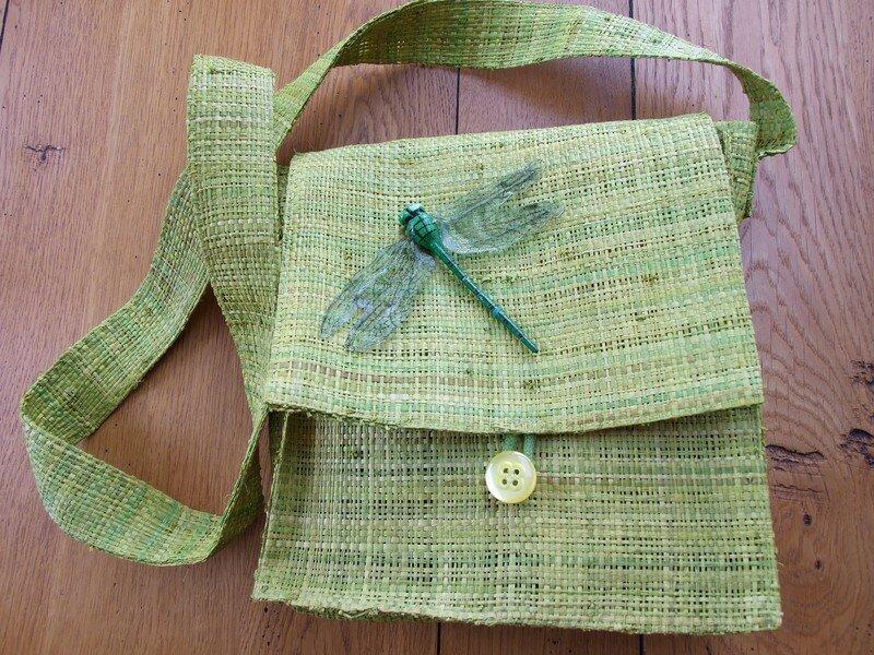sac à main vert