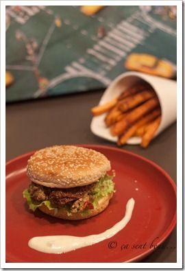 burger d'agneau