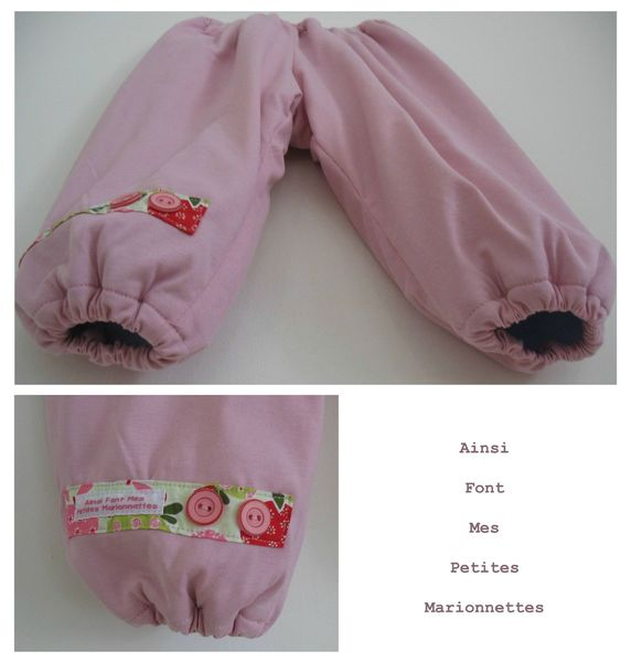 ensemble jersey rose pantalon 2